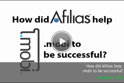 How Afilias' global registry services helped .MOBI to be successful